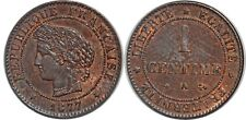 1 CENTIME CERES 1877 A  F.104 SUP!!!