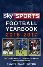 Sky Sports Football Yearbook 2016-2017, Headline, Very Good condition, Book