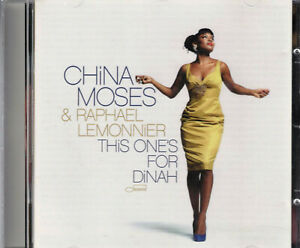 CHINA MOSES  &  RAPHAEL LEMONNER  THIS ONE'S FOR DINAH, CD-Album