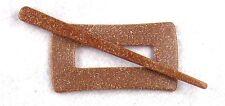 Patentschließe für Strickjacken Wollponchos + Schals - scinagro d - 8,8 x 4,8 cm