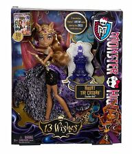 Monster High 13 Wishes Haunt the Casbah Clawdeen Wolf Doll - NEW & SEALED!