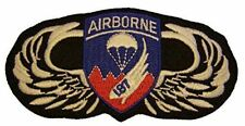187TH AIRBORNE Rakkasans ON JUMP WINGS PATCH - Color - Veteran Owned Business