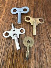 Vintage Clock Keys Lot Mantel Germany England
