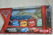 Disney Pixar Cars 2  RACING PACK 4 McQueen,RAOUL,MIGUEL,DENISE release 2010  NIB