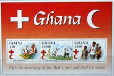 GHANA 1994 Block 266 S/S 1744 75th Ann Red Cross Rotes Kreuz red crescent MNH