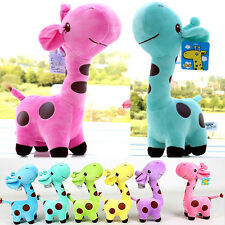 Giraffe soft plush toy baby doll birthday gift For Random Color