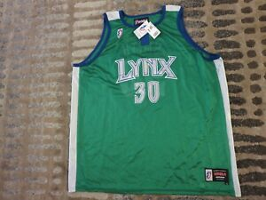 Katie Smith #30 Minnesota Lynx WNBA Finals Jersey XL Autograph Signed NEW