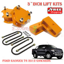 Fully 3-inch Lift Kits Leveling For Ford Ranger T6 PX XL BT60 2012 Shock Spacers