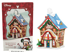 Department 56 Disney Village Mickey's Cocoa Shoppe Building Figurine 4053048