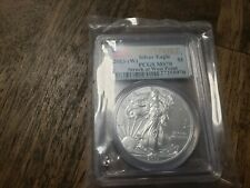 2013-W $1 American Silver Eagle PCGS MS70 - West Point Label