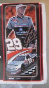 "Kevin Harvick #29 Life Size Poly Vinyl Banner 26""x 58"" NIP Racing Reflections"