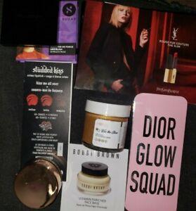 Dior Kat Von D YSL Bobbi Brown Tarte Shu Uemura Eye & Lip Makeup Sample Lot