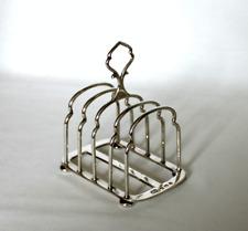 George V Silver Toast Rack