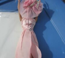Vintage Tressy Doll Evening Jewel Dress & Hat Pink Rare American Character 1965