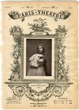 Cliché Quinet, Paris-Théâtre, Marie-Caroline Miolan-Carvalho (1827-1895), cantat