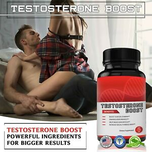 TESTOSTERONE BOOSTER MALE ENHANCEMENT FOR MEN SEX PILLS,INCREASE,STAMINA,DRIVE