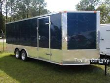 New 85 X 24 85x24 Enclosed Cargo Carhauler Race Trailer New 2021