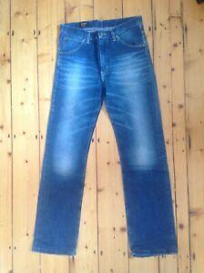 Top! LEE 101 Z coole Vintage Herren Jeans,slim straight,W 31/L 33-34,blau