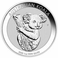 2020 Australian Koala 1 oz Silver Dollar