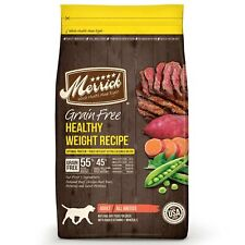 Merrick Grain Free Healthy Weight Recipe Dry Dog Food, 25 lbs. 25-Pound Canada
