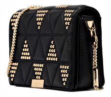 Michael Kors Shoulder Bag Jade Gusset Md Clutch Black New