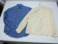 Women's Clothing Lot Shirts 2 Items Size 8 Anne Klein  Ralph Lauren Purple Lable