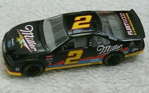 Rusty Wallace #2 Black Miller 2001 1:24 Scale Die Cast Collectible Nascar Racing