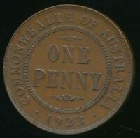 Australia, 1923 One Penny, 1d, George V - Extra Fine
