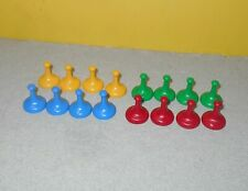 1998 Sorry Game Plastic Tokens Movers Replacement Full Set of 16