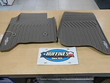 New OEM All-Weather Front Mat Set - 2015-2019 Chevrolet Suburban/Tahoe 23452758