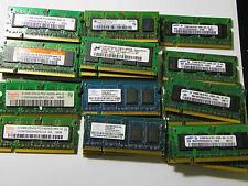 Lot of 30 512MB DDR2 PC2-4200 Laptop Memory Nanya Samsung MICRON HYNIX INFINEON
