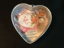 "Wilton All Occasion Heart Cake Pan 2105-5176 1991 9"" x 2"" deep. #SB 3"