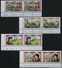 """Tuvalu-VAITUPU: Mi-Nr. 9-12/ 15-18 """"Monarchen"""" 4x waag. Zdr. aus 1984, postfr."""