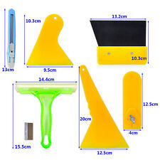 Car Window Scraper Wrap Tint Vinyl Film Tools Kit For Application Installation