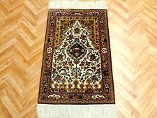 Orientteppich Teppich Seidenteppich Hereke Fein 100x65 Wunderschön Tip Top
