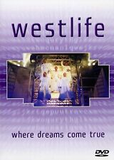 Westlife Where Dreams Come True DVD Nicky Byrne UK Release Brand New Sealed R2