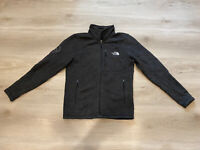 The North Face NF0A3LH7 Google Sweater Fleece Grey Jacket Size- Small