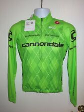 *NEW* CASTELLI Cannondale UCI Pro Cycling Team Long Sleeve Jersey Jacket Small S