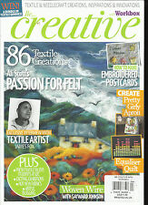 BE CREATIVE WITH WORKBOX MAGAZINE,   MARCH / APRIL, 2017   ISSUE, 160