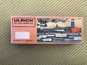 HO scale Ulrich vintage kit log skidded with black boiler