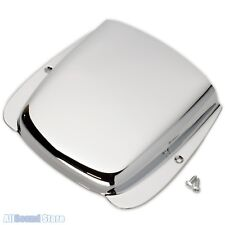High Quality Steel Bridge Cover for Fender Jazz Bass with Screws - CHROME - NEW