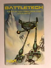 LCT-1S Locust Battletech Science Fiction Combat Book Game, Collector's Grade