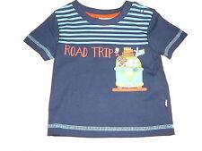 NEU Liegelind tolles T-Shirt Gr. 68 blau mit Tier- und Bus Motiv !!