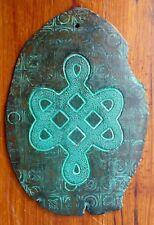 Tablette gravée ceramique symbole celtique symbol celtic engraved ceramic