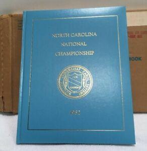 North Carolina 1982 Yearbook National Champions UNC Jordan Worthy Smith Tarheels