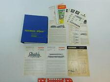 "AV412-2# Flschm Folder ""Fleischmann Tips""+Instructions Locomotive 4124+4010+4933"