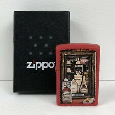 Genuine Fuel Can Zippo Lighter - Zippo Collection Magazine No. #40 - Red Zippo.