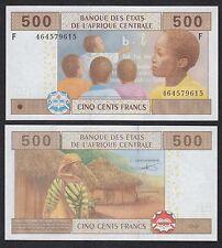 Cent. Afr. Stat. - Guinea Equatorial 500 Francs 2002  Pick 506F2  SC = UNC
