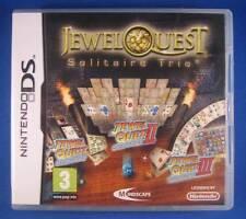 ★☆☆ DS game - Jewel Quest: Solitaire Trio ☆☆★