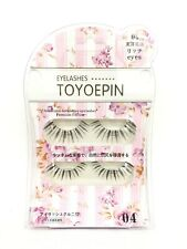 Toyoepi Eyelashes two pairs 04(5 package) with a gift